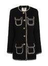 Darling Retro Vintage 60s Coat Cece Black