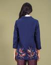 Elaine DARLING Retro Vintage Embroidered Coat