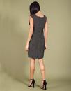 Leonie DARLING Retro Vintage Metallic Fitted Dress