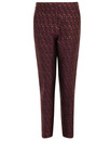 DARLING LORRAINE RETRO METALLIC TEXTURED TROUSERS
