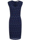Tessie DARLING 1960s Polka Dot Sleeveless Dress