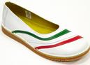 Lulu Italia - DJ Retro Sixties Mod Slip On Shoes