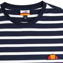 Sailio ELLESSE Men's Retro Breton Stripe Tee NAVY