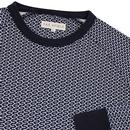 Renold FAR AFIELD Retro Geometric Printed Sweater