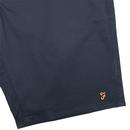 Hawk FARAH Retro Cotton Twill Chino Shorts (Navy)