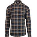 Farah radley LS button down check shirt canvas