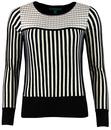 FEVER LEWES RETRO VINTAGE STRIPE SWEATER