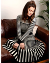Lewes FEVER Retro Vintage Womens Stripe Skirt