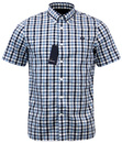 FRED PERRY RETRO HERRINGBONE GINGHAM SHIRT