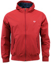 FRED PERRY RETRO INDIE HOODED BRENTHAM JACKET