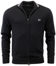 FRED PERRY RETRO INDIE TIPPED KNITTED TRACK TOP