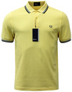 FRED PERRY RETRO INDIE MOD TWIN TIPPED PIQUE POLO
