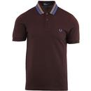 FRED PERRY Men's Mod Bold Tipped Pique Polo Shirt