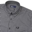 FRED PERRY Mens Mod Three Colour Gingham Shirt (B)