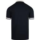 Contrast Rib FRED PERRY Pique Twin Tipped Polo CB