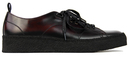fred perry george cox trainers oxblood