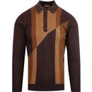 Gabicci texas espresso long sleeve top