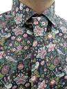 GIBSON LONDON George Liberty Print Shirt & Tie (O)