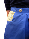 Womens Retro Pleated Skirt by Gonsalves & Hall BY