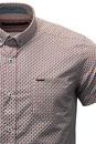 GUIDE LONDON Retro 60s Mod Op Art SS Shirt