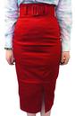 'Vogue' High Waisted Pencil Skirt by Heartbreaker