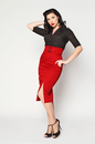 HEARTBREAKER RETRO FIFTIES MOD PENCIL SKIRT RETRO