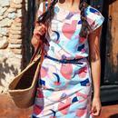 Hetty SUGARHILL BRIGHTON Abstract Geo Dress