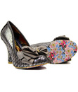 Ascot IRREGULAR CHOICE Retro Vintage Bow Heels