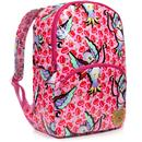Irregular choice back packing love bird backpack pink