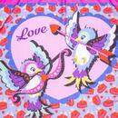 Pom Pom Parade IRREGULAR CHOICE Love Birds Scarf