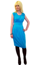 'Sapphira' - Retro Classic Dress by JOHN SMEDLEY B