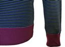 Egbert JOHN SMEDLEY Retro Mens Stripe Mod Pullover