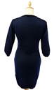 Imperial JOHN SMEDLEY Retro 60s Mod Knitted Dress