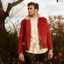 LYLE & SCOTT Mod Jumbo Cord Shearling Jacket SPICE
