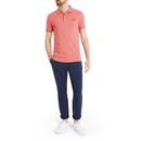 LYLE & SCOTT Men's Mod Pique Polo Shirt - Pink