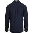 LYLE & SCOTT Mod Button Down Side Stripe Shirt (N)