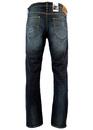 Daren LEE Retro Slim Leg Green Glint Denim Jeans
