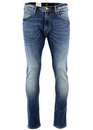 Luke LEE Retro Indie Mod Slim Tapered Denim Jeans