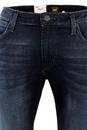 Malone LEE Retro Skinny Dark Shadow Denim Jeans
