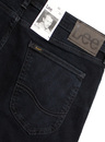 Malone LEE Retro Mod Raven Blue Skinny Denim Jeans