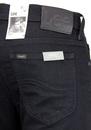 Rider LEE Retro Indie Slim Leg Denim Black Jeans