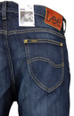 Rider LEE Retro Mod Slim Leg Denim Fast Blue Jeans