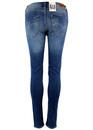 Jodee LEE Retro Mod Super Skinny Blue Denim Jeans