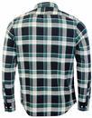 LEE Button Down Retro Mod Gingham Shirt (BG)