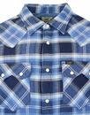 LEE Regular Rider Plaid Check Retro Shirt