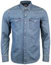Barstow LEVI'S® Retro 70s Mens Western Denim Shirt
