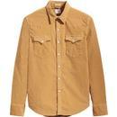 LEVI'S Men's Mod 70s Needle Cord Western Shirt CT