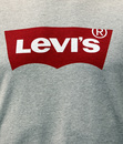 LEVI'S® Retro Mod Indie Batwing Logo T-Shirt Grey
