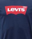LEVI'S® Retro Mod Indie Batwing Logo T-Shirt Navy