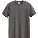 LEVI'S Men's Retro Indie Patch Logo S/S Tee - Grey